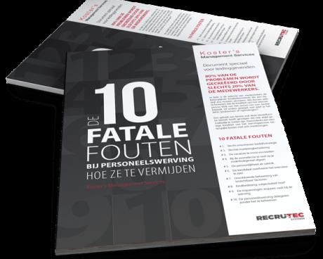 10 fatale fouten